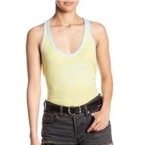 Wildfox Im the Sunshine in my Life Lorna Top Large
